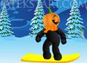 Pumpkin Snowboard kerüld el az akadályokat és szerezz sok pontot