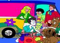 Scooby Doo Online Coloring játék