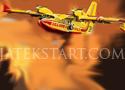 Sky Fire Fighter vezesd el a kisrepülőt