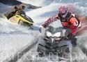 Snowmobile Racing motoros szán versenyzős játékok