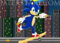 Sonic Skating gördeszkázz Sonickal a játékban