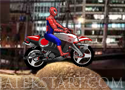 Spiderman Biker motorozz pókemberrel