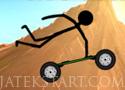 Stickman Mountainboard deszkás ügyességi versenyzős játékok