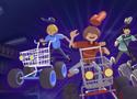 Supermarket Race verseny az áruházban