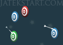 Targeteer nyíllal lövöldözős