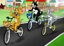 Toms Bmx Race biciklis verseny a híres cicával és macskával
