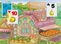 Tri Fruit Solitaire pasziánsz játék